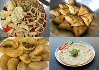 Homemade Lebanese food