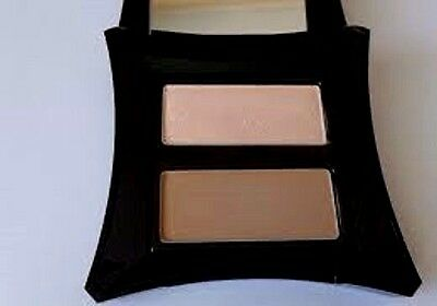Illamasqua Sculpting Powder Duo in Illuminate & Nefertiti - NIB
