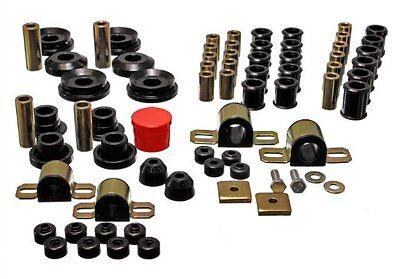 Energy Hyper Flex Master Bushing Kit For Nissan 95-98 240SX S14 (Black) 7.18107G ()