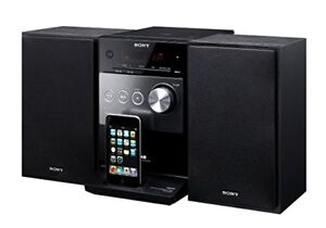Sony CMT-FX300i - Micro system with iPod cradle - radio/CD/MP3