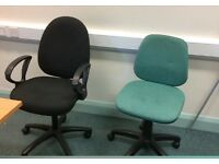 3 Office Chairs for sale £20 each or all 3 for £50