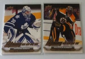 2015-16 UPPER DECK SERIES ONE UD CANVAS YOUNG GUNS