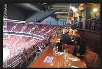 4 x seats Calgary Flames Vrs Canucks with exclusive dining table