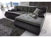 Beautiful brand new soft corner sofa available in various colours