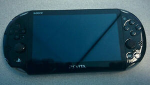 *****BLACK SONY PLAYSTATION PS VITA PCH-2001 SLIM MODEL!*****
