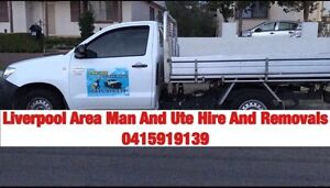 Liverpool Area Man And Ute Hire And Removals Liverpool Area Preview