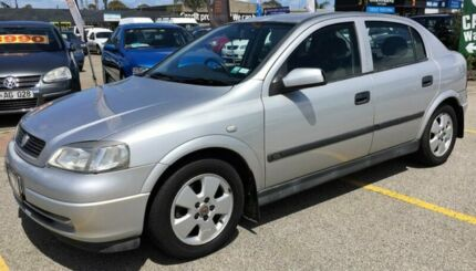 2004 Holden Astra TS MY03 CD 4 Speed Automatic Hatchback