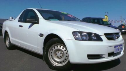 2008 Holden Commodore VE Omega White 4 Speed Automatic Utility Hillman Rockingham Area Preview