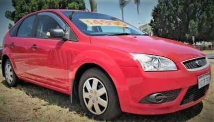 2008 Ford Focus LT 08 Upgrade CL Red 4 Speed Automatic Hatchback