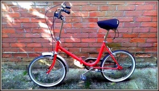 Foldup Bicycle- GOOD CONDITION!