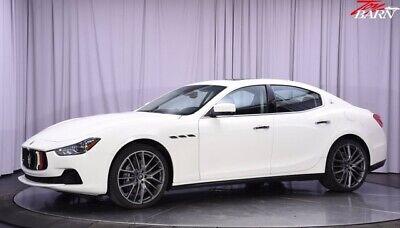 2015 Maserati Ghibli S Q4 2015 Maserati Ghibli S Q4 White 4dr Car Twin Turbo Premium Unleaded V-6 3.0 L/18