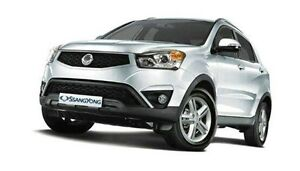 2015 Ssangyong Korando C200 MY15 SX White 6 Speed Automatic Wagon Derwent Park Glenorchy Area Preview