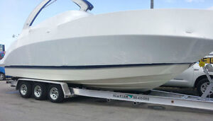 2018 tri axle trailer 15600lb capacity up to 36' boat $6999