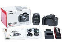 Canon 1200d DSLR Camera with 18-15mm lens kit