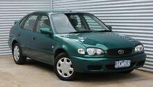 2001 Toyota Corolla AE112R Ascent Green 4 Speed Automatic Liftback Thomastown Whittlesea Area Preview
