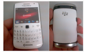 White, super thin blackberry curve UNLOCKED