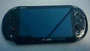 *****BLACK SONY PLAYSTATION PS VITA PCH-2001 SLIM MODEL!*****