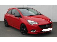 2015 new shape 1.4 red limited edition vauxhall corsa