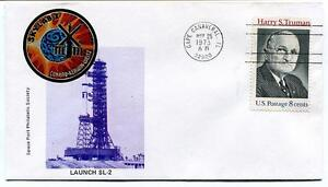 1973-SKYLAB-1-Launch-SL-2-Cape-Canaveral-Satellite-NASA-Space-Harry-S-Truman