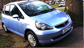 HONDA JAZZ , BLUE , 5 DOOR,ONLY 1 LADY OWNER . £2,295 ONO