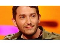2 Jon Richardson Comedy Tickets for Sold Out Gig - 5 Rows from Stage