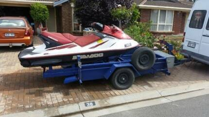 Jet Ski including trailer - Seadoo GTX 4TEC