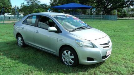 2006 Toyota Yaris YRS Sedan Mysterton Townsville City Preview
