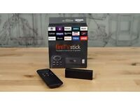 Brand New Fully Loaded Amazon Fire Stick Firestick Kodi 16.1 Mobdro + Movies + Live TV + TV Shows