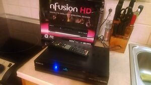 Nfusion HD Receiver FTA Satellite Dish