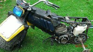 1983-84 Yamaha Tri-moto 175cc 3-wheeler parts.