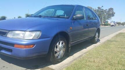 1996 TOYOTA COROLLA HATCHBACK, WITH RWC 6 MTHS REGO CHEAP TO RUN Kippa-ring Redcliffe Area Preview