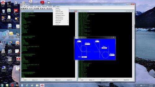 PC-DNC Editor. NC text editor - CNC Program Editor Software