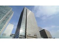 Flexible 3 / 4 person office space for Rent in London Canary Wharf £2500 p/m