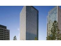 Flexible 6-8 person Private Office Space Londons Canary Wharf £1125 a week