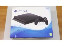 Sony Playstation 4 (ps4) console slim (LATEST VERSION) - BRAND NEW IN BOX