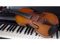 Violin, piano and music theory professional lessons NOTTING HILL GATE