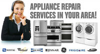 Quick Affortable Appliance Repair Service.780 860 0673