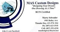 BCIN Certified Drafting Services (Residential and Commercial)