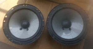 """Pair of JL Audio C2 6"""" Mids. From component set. Just Mids  $50"""