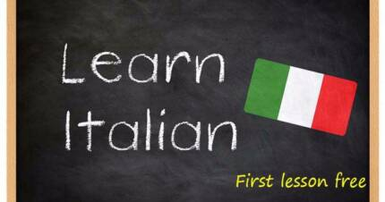 Italian lessons – First lesson free