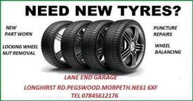 Tyres at discounted prices