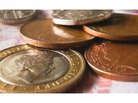 I buy your coins gbp including old 1gbp coins