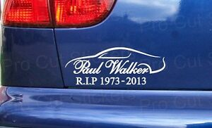 Paul-Walker-Memorial-RIP-Sticker-Decal-Graphic-Car-Van-Bumper-Window