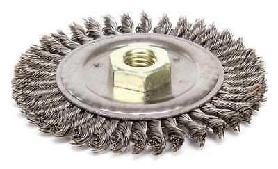 Weiler Wire Wheel Wire Brush 4-12 316 W 13232