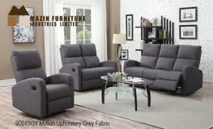 Smaller scaled Grey Recliner Set MA10 9064SGY-1 (BD-1386)
