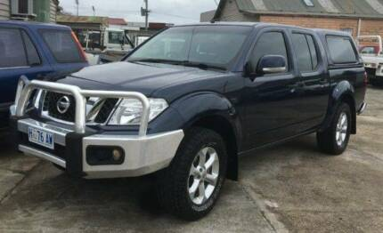 2012 Nissan Navara Dual Cab 140KW Engine Launceston Launceston Area Preview
