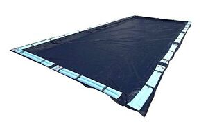 New 20x40 Dark Blue Winter Rectangular Inground Swimming Pool Cover Safety
