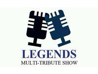 Tribute Act Show Multiple Characters Legends plus DJ