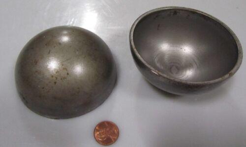 """Hot Rolled Steel Half Sphere / Balls 3.50"""" Diameter x 1.75"""" Height, 6 Pieces"""