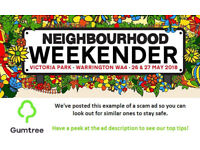 Neighbourhood Weekender Tickets -- Read the ad description before replying!!